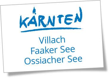 Region Villach Faaker See Ossiacher See, Kärnten