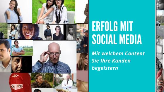 Erfolg mit Social Media Link
