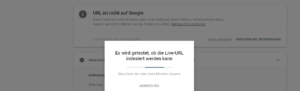 Google Search Console 3 Website indexieren bei Google