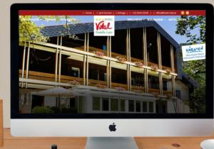 Website Hotel Vital Bad Bleiberg brand text